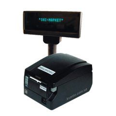 Cash register ІКС-С651Т (fiscal receipt printer, for Ukraine only)  with customer display and power supply IKS-C651T